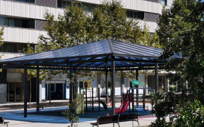 Txikileku – zona exterior – parque infantil cubierto
